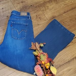 Levi's slimming bootcut jeans